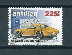 1998 Netherlands Antilles Chevrolet 225 Cent Used/gebruikt/oblitere - Curaçao, Nederlandse Antillen, Aruba