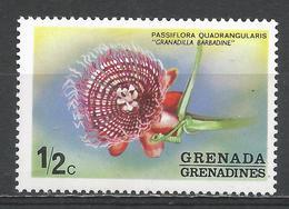 Grenada Grenadines 1975. Scott #50 (MNH) Grandilla Babadine, Flower * - Grenade (1974-...)