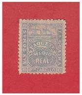 ANTILLES -- PUERTO CABELLO -- TIMBRES DE NAVIRE PRIVE--1864--FACIT N° LG3* - West Indies