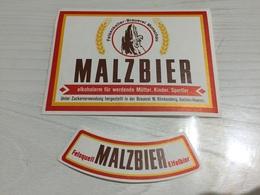 Ancienne Étiquette 1.1 BIÈRE ÉTRANGÈRE MALZBIER FELSENKELLER BRAUEREI MONSCHAU - Bière