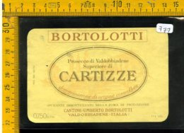 Etichetta Vino Liquore Spumante Cartizze Bortolotti Valdobbiadene - Etiquetas