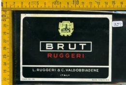 Etichetta Vino Liquore Spumante Brut Ruggeri Valdobbiadene - Etichette