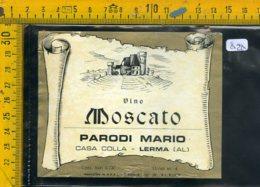 Etichetta Vino Liquore  Moscato Parodi Mario Lerma AL - Etichette