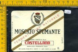 Etichetta Vino Liquore Spumante Moscato Castellana Basaluzzo - Etichette