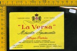 Etichetta Vino Liquore La Versa Moscato S. Santa Maria Della Versa - Etichette