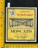 Etichetta Vino Liquore Moscato Le Due Valli Isola D'Elba - Etichette