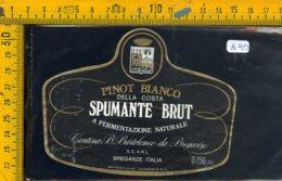 Etichetta Vino Liquore Spumante Brut Della Costa Breganze - Etichette