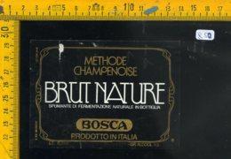 Etichetta Vino Liquore Spumante Brut Bosca Cazzano VR - Etichette