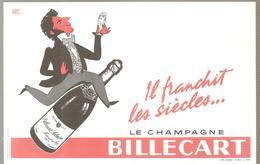 Buvard BILLECART Le Champagne BILLECART Il Franchit Les Siècles.... - Limonades