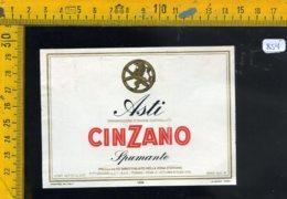 Etichetta Vino Liquore Spumante Asti Cinzano - Etichette