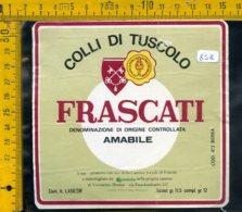 Etichetta Vino Liquore Frascati Colle Di Tuscolo - Etichette