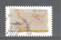 France Autoadhésif Oblitéré N°1091 (le Toucher) (cachet Rond) - France