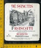 Etichetta Vino Liquore Frascati De Sanctis - Etichette