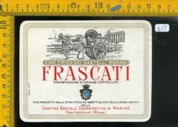Etichetta Vino Liquore Frascati Castelli Romani Frattocchie RM - Etichette