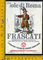 Etichetta Vino Liquore Frascati Sole Di Roma Vermicino - Etichette