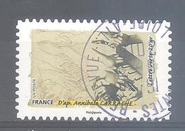 France Autoadhésif Oblitéré N°1090 (le Toucher) (cachet Rond) - Usati