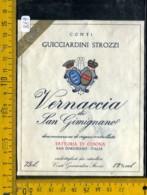 Etichetta Vino Liquore Vernaccia Di S. Gimignano 1982 Cusona - Etichette