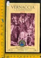 Etichetta Vino Liquore Vernaccia Di S. Gimignano 1977 Casale Falchini - Etichette