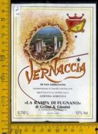 Etichetta Vino Liquore Vernaccia Di S. Gimignano La Rampa Di Fugnano - Etichette