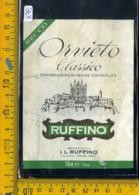 Etichetta Vino Liquore Orvieto Ruffino Pontassieve - Etichette