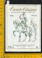 Etichetta Vino Liquore Orvieto 1982 Casenuove Greve In Chianti - Etichette