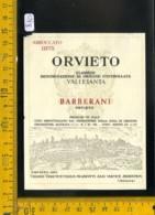 Etichetta Vino Liquore Orvieto Barberani - Etichette