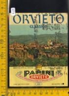 Etichetta Vino Liquore Orvieto Papini - Etichette
