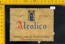 Etichetta Vino Liquore Aleatico Montefiascone - Etichette