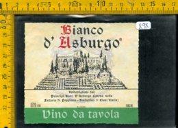 Etichetta Vino Liquore Bianco D'Asburgo Poppiano Barberino D'Elsa - Etichette