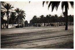 Photo Originale Algérie, Place De  Touggourt 30200 ( توقرت ) Oasis Du Nord Du Sahara Algérien Le 02 Janvier 1929 - Places