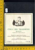 Etichetta Vino Liquore Colli Del Trasimeno Bianco Pucciarella Magione - Etichette