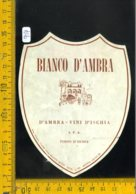 Etichetta Vino Liquore Bianco D'Ambra Porto D'Ischia - Etiquettes