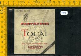 Etichetta Vino Liquore Tocai Vinicola Pastrengo Verona - Etiquettes