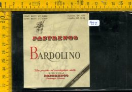 Etichetta Vino Liquore Bardolino Vinicola Pastrengo Verona - Etiquettes