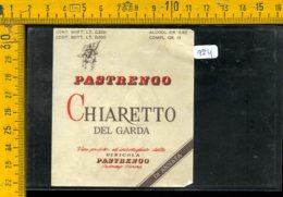 Etichetta Vino Liquore Chiaretto Del Garda Vinicola Pastrengo Verona - Etiquettes