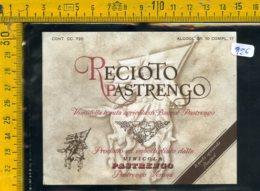 Etichetta Vino Liquore Recioto Pastrengo Verona - Etiquettes