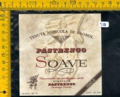 Etichetta Vino Liquore Soave Pastrengo Verona - Etichette