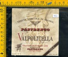 Etichetta Vino Liquore  Valpolicella Pastrengo Verona - Etichette