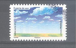 France Autoadhésif Oblitéré N°1187 (la Vue) (cachet Rond) - France