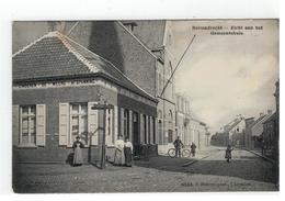 Berendrecht  Beirendrecht - Zicht Aan Het Gemeentehuis.   4535, F.Hoelen,phot.Capellen  1912 - Antwerpen