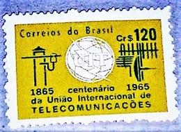 Brazil,1965, International Communications. MNH.Michel # 1078 - Telecom