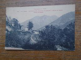 Val D'aran , Le Portillon ( Environs De Luchon ) Route De Bosost , Camino De Bosost - France