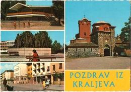 CPSM MULTI-VUES DE KRALJEVA  (BOSNIE-HERZEGOVINE)  POZDRAV IZ KRALJEVA - Bosnie-Herzegovine