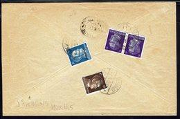 LETTONIE - Enveloppe Recommandée De Atasienne Du 6-6-1942 - Affranchissement à 42 Pf Ostland Pour Riga - B/TB - - Latvia