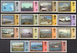 FALKLAND ISLANDS DEPENDENCIES 1980 Set Of 15 MNH - Falkland Islands