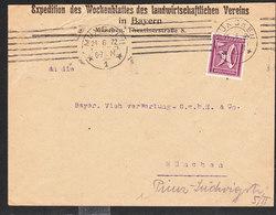 ALLEMAGNE Lettre De MUNCHEN Du 21 Juin 1922 - Allemagne