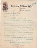 CANADA Lettre Facture Illustrée 6/5/1899 Lawrence A Wilson Co Wine & Spirit Marchants MONTREAL - Canada