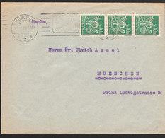 ALLEMAGNE Lettre De MUNCHEN De 1923 Via Munchen - Lettres & Documents