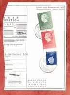 Paketkartenabriss, MiF Koenigin Juliana, Entwertet Apeldoorn 1961 (68782) - 1949-1980 (Juliana)