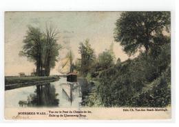 MOERBEKE-WAES. - Vue Sur Le Pont Du Chemin De Fer - Moerbeke-Waas